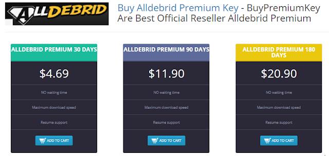 Buy Alldebrid Premium Key | Alldebrid Premium Account | Alldebrid