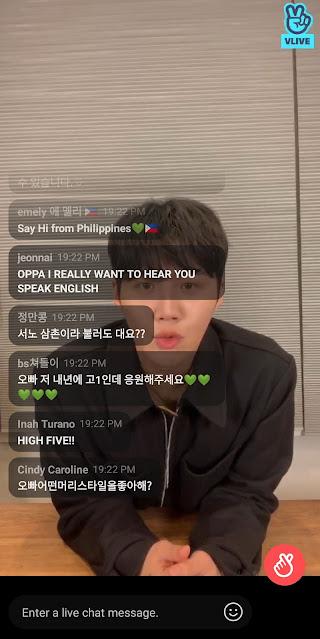 Kim Seon-ho VLive Good Bye 2020