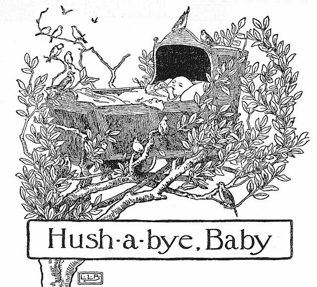 Hush-a-bye Baby, Leonard Leslie Brooke illustration 1916