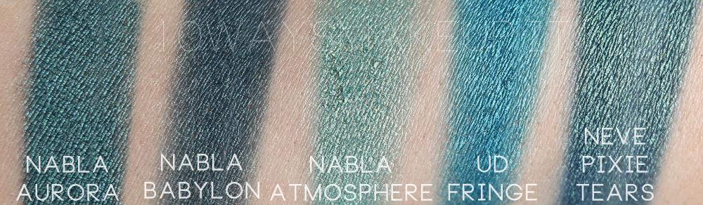 Nabla Aurora swatch