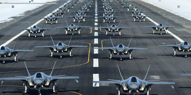Puluhan pesawat tempur F-35 terpaksa keluar dari penerbangan karena suku cadang