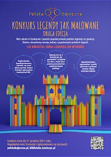 Plakat konkusru Polska Bajeczna