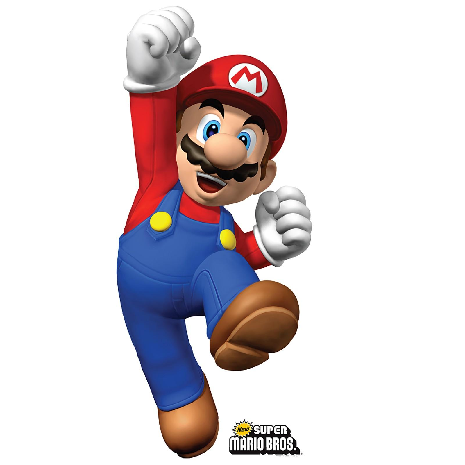 Super Mario Bros Free Printable Poster