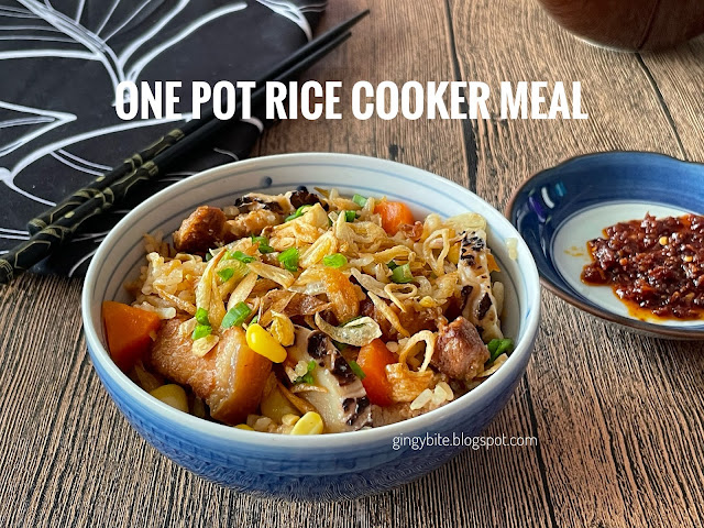 One Pot Rice Cooker Meal