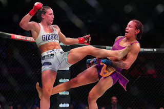 Cris Cyborg defeats Julia Dudd 1