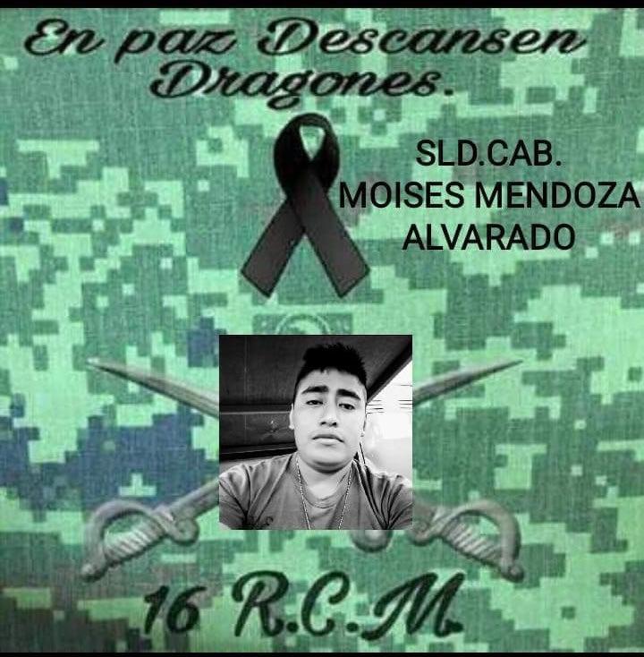Honor a quien Honor Merece! Muere militar tras ataque de delincuentes del CDN en Nuevo Laredo