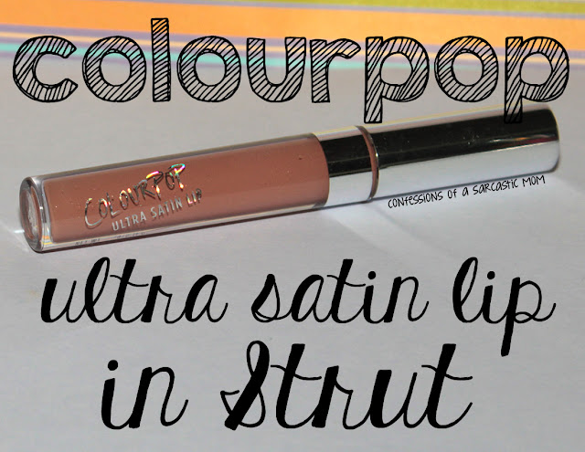 ColourPop Ultra Satin Lip in Strut