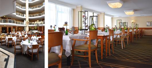 Van der Valk: Restaurant und Ambiente