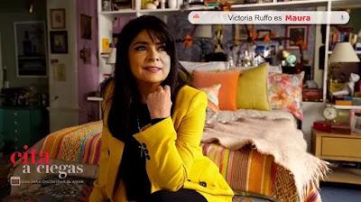 Victoria Ruffo es Maura en Cita a Ciegas
