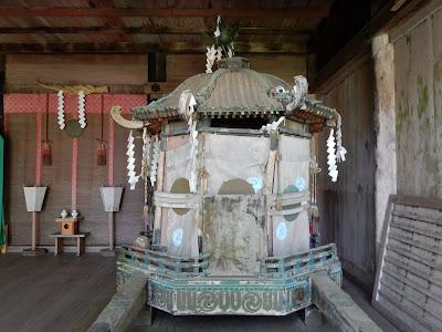 吉野山:吉野水分神社神輿