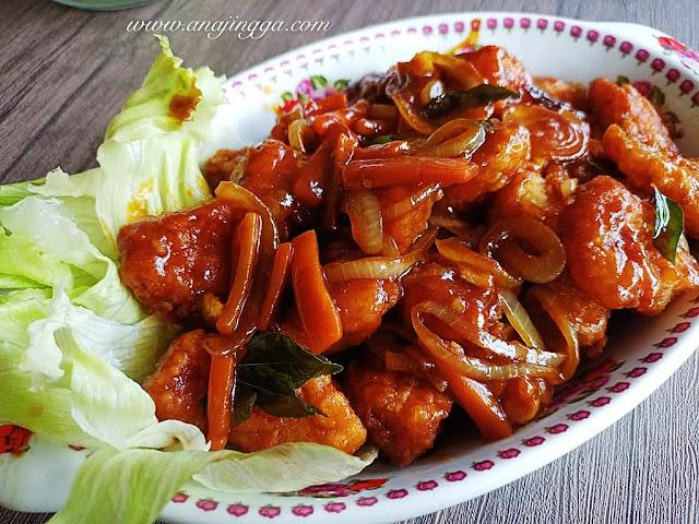 resepi ikan dory kam heong