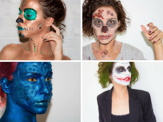 maquillage - halloween - idees