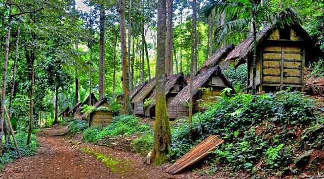 Pemukiman Kampung Baduy