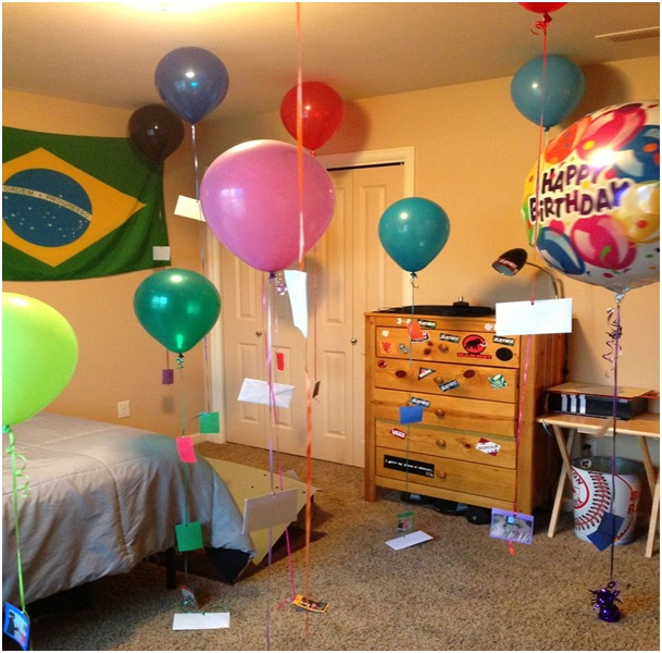 erkek arkadaşa doğum günü sürprizleri