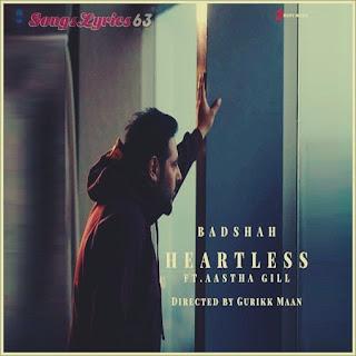 HEARTLESS Lyrics - Badshah Indian Pop [2019]