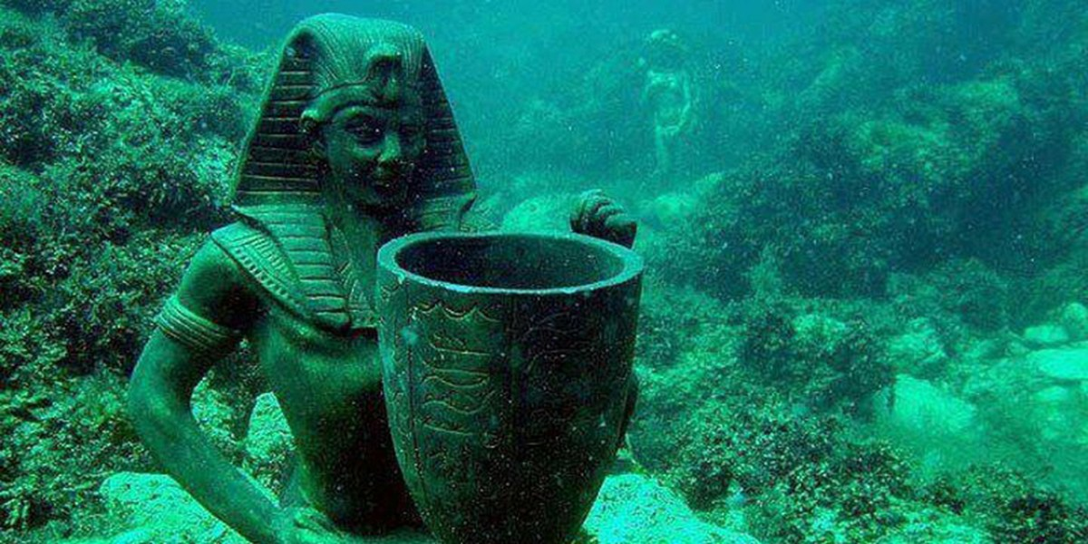 Sunken Ruins of Alexandra Will Be World's First Underwater Museum