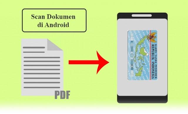 cara scan foto atau dokumen pake hp android