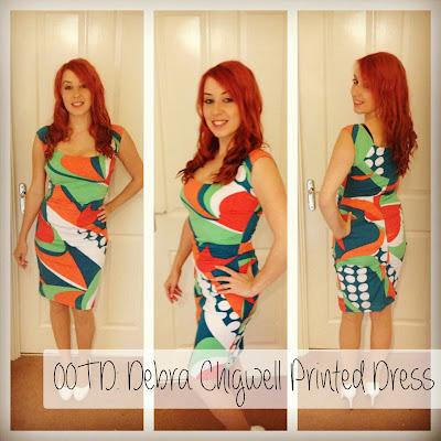 Debrat Chigwell printed dress