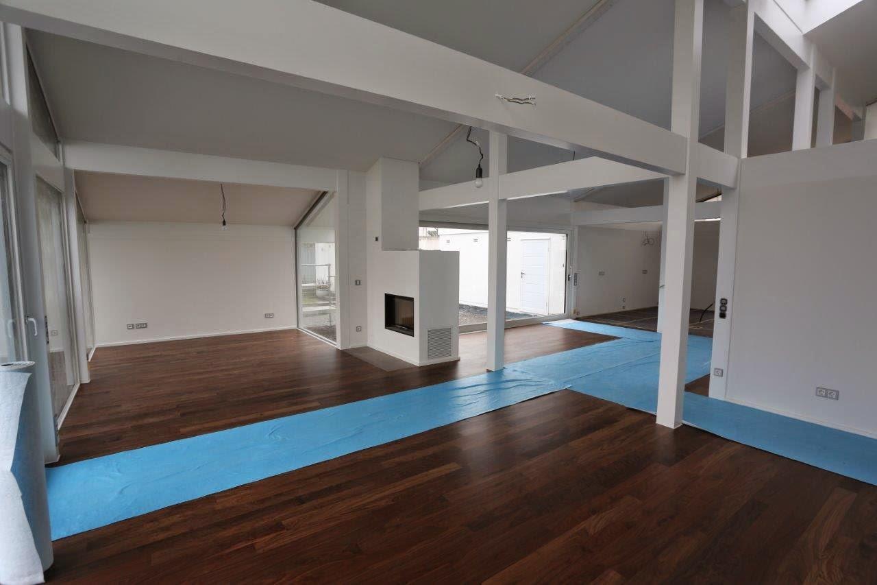 Ein Davinci Haus In Rhein-Main: Jetzt Auch Holz Auf Dem Boden
