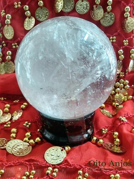 Esferas de Cristal Quartzo e Esferas de Vidro - Cristalomancia