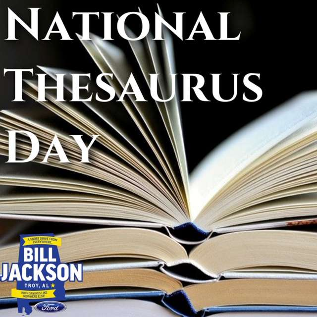 National Thesaurus Day Wishes Awesome Picture
