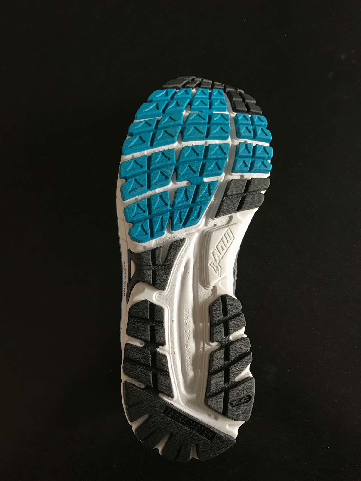 71641bebfee The outsole features Inov-8 Tri-C system with 3 densities of rubber  firm  high wear black heel and toe