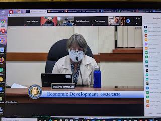EDC Chair Melanie Hamblen