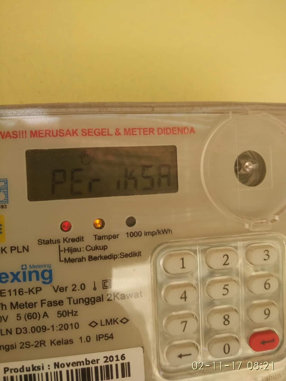 Meteran Listrik Tulisan Periksa : meteran, listrik, tulisan, periksa, Solusi, Meter, Muncul, Tulisan, Periksa