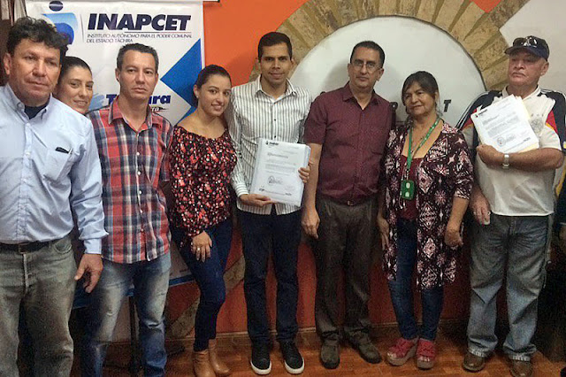 TÁCHIRA: Beneficiadas familias tachirenses con entrega de proyectos de infraestructura a través del Inapcet.