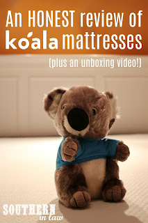 An honest review of Koala Foam Mattresses - plus a vacuum sealed mattress unboxing video