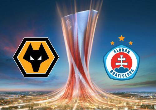 Wolverhampton Wanderers vs Slovan Bratislava -Highlights 7 November