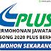 PLUS Berhad Membuka Peluang Pekerjaan 2020 !