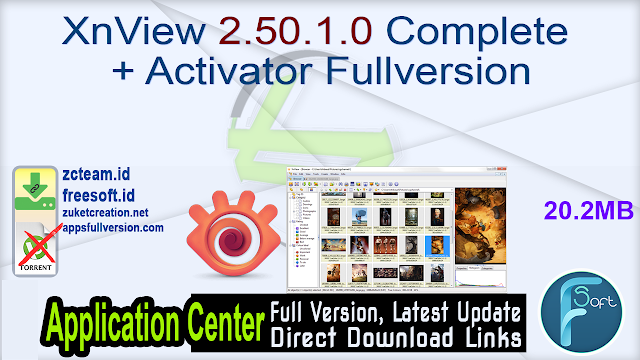 XnView 2.50.1.0 Complete + Activator Fullversion