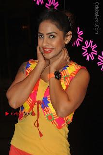 Telugu Actress Model Sri Reddy Latest Stills in Yellow Dress  0028.JPG
