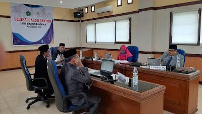 Pelaksanaan Seleksi Calon Rektor IAIN Batusangkar Periode 2020-2024 Secara Daring