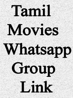 Tamil Movies Whatsapp Group Link