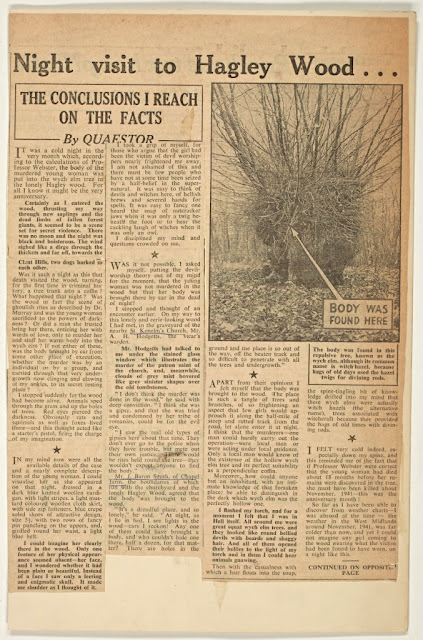 Express & Star - 20 November 1953 - Quaestor article
