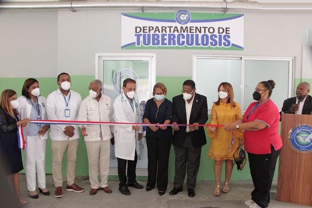 Fundación Cruz Jiminián inaugura Unidad de Tuberculosis