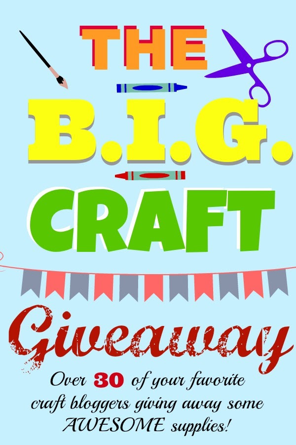 The BIG Craft Giveaway