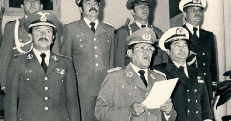 García Meza fue el único condenado de las dictaduras pese a haber gobernado con toda una cúpula militar / ARCHIVOS