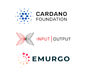 Cardano Blockchain ADA Cryptocurrency Separate Entities; Cardano Foundation, Input Output, Emurgo.