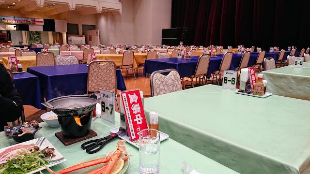 宮城県仙台市 作並温泉 La楽リゾートホテルグリーングリーン 夕食バイキング