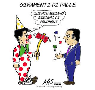 matteo renzi, giuseppe conte, nuovo governo, alleanze, alleati di governo, fenomeni, politica, vignetta, satira