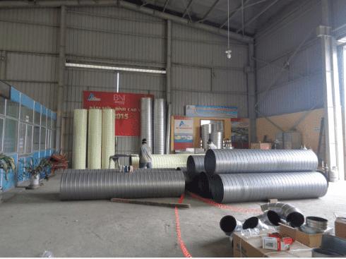 Quy trình sản xuất ống gió TPP Hình 11