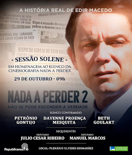 Homenagem ao elenco do Filme Nada Perder 2