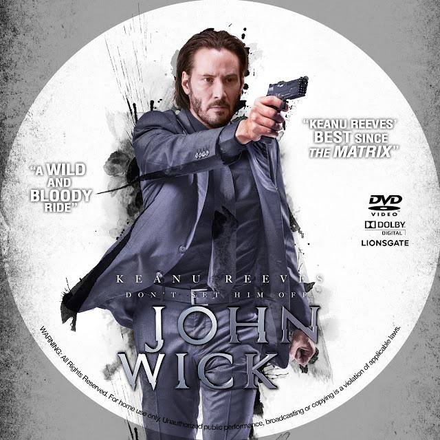 Label DVD John Wick
