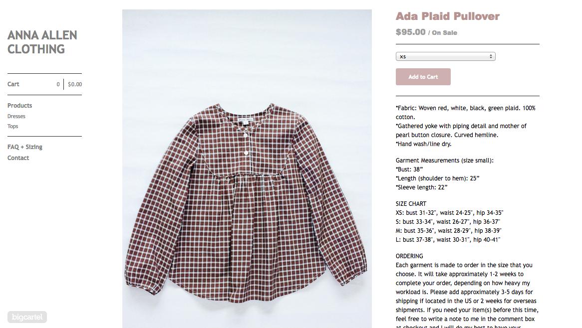 November 2014Anna Allen Clothing Blog: November 2014