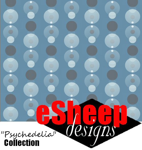 It's a Bubbly Dotty World fabric by eSheep Designs