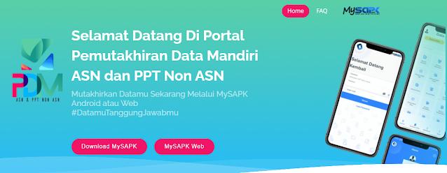 Prosedur dan Cara Lakukan Pemutakhiran Data PNS Lewat Aplikasi atau Web