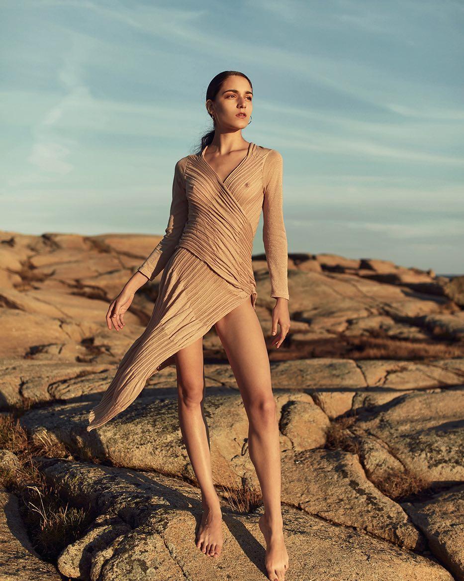 Nadia Boyko, Professional Russian-Born Fashion Model
